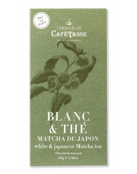 Cafe Tasse White Chocolate with Matcha Tea