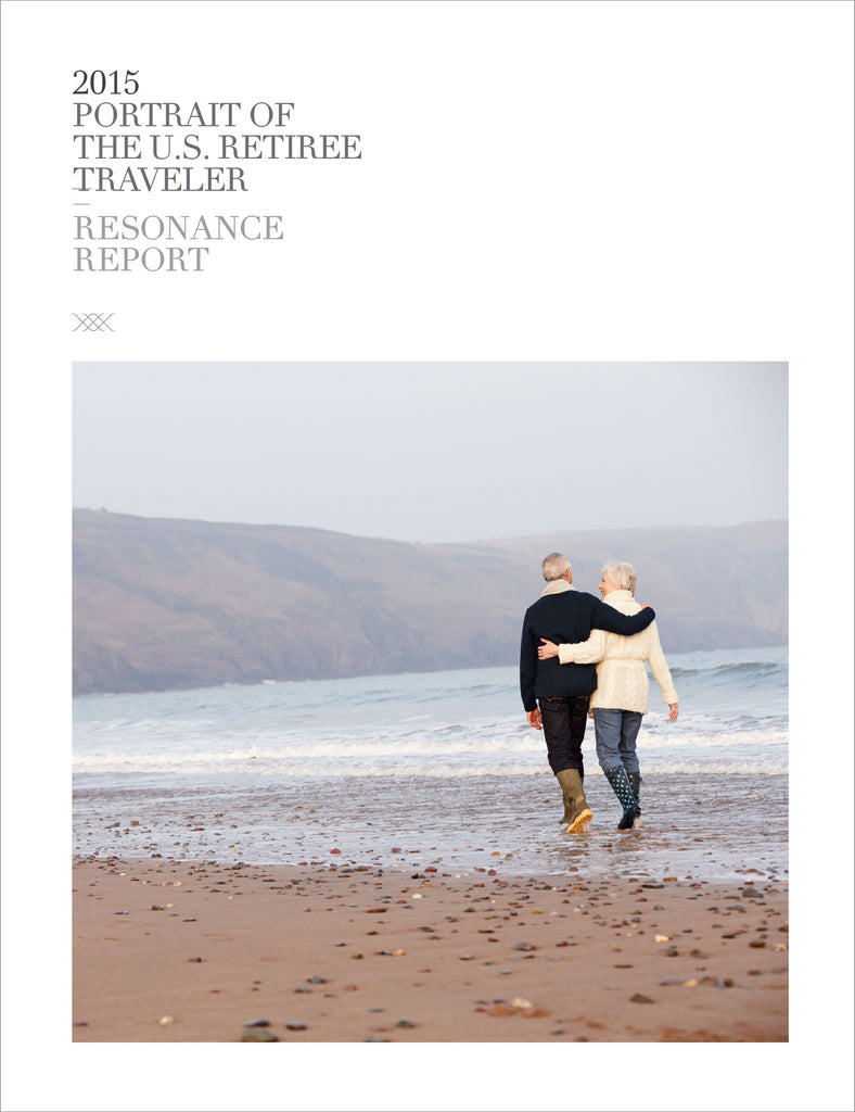 2015 PORTRAIT OF THE U.S. RETIREE TRAVELER