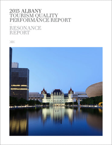 2015 ALBANY TOURISM QUALITY PERFORMANCE REPORT