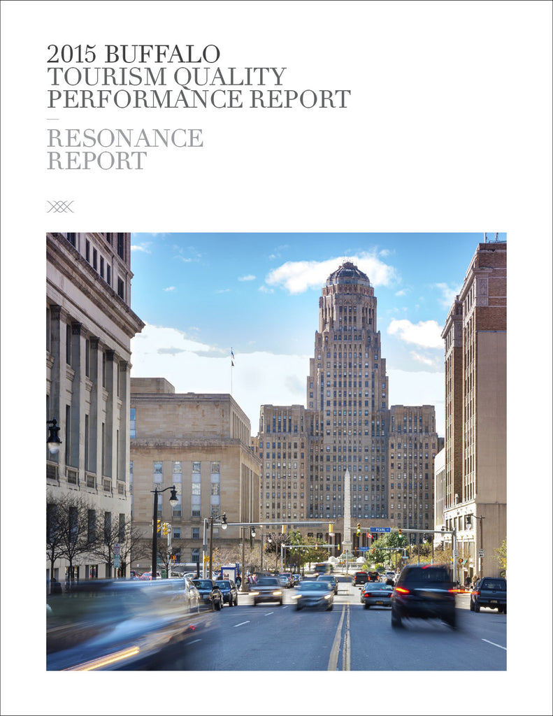 2015 BUFFALO TOURISM QUALITY PERFORMANCE REPORT