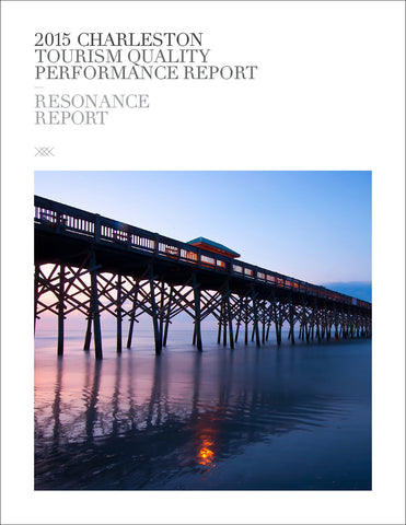 2015 CHARLESTON TOURISM QUALITY PERFORMANCE REPORT