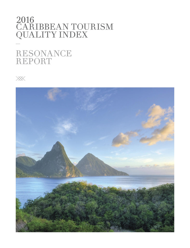 2016 CARIBBEAN TOURISM QUALITY INDEX
