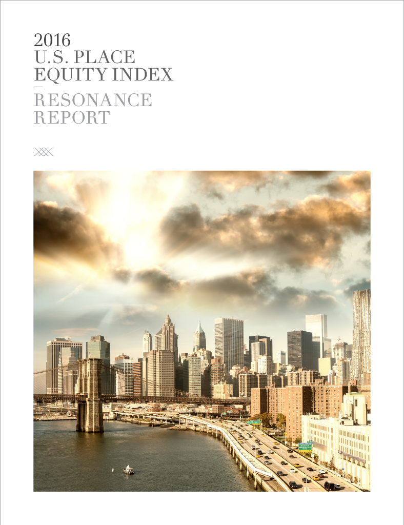 2016 U.S. PLACE EQUITY INDEX