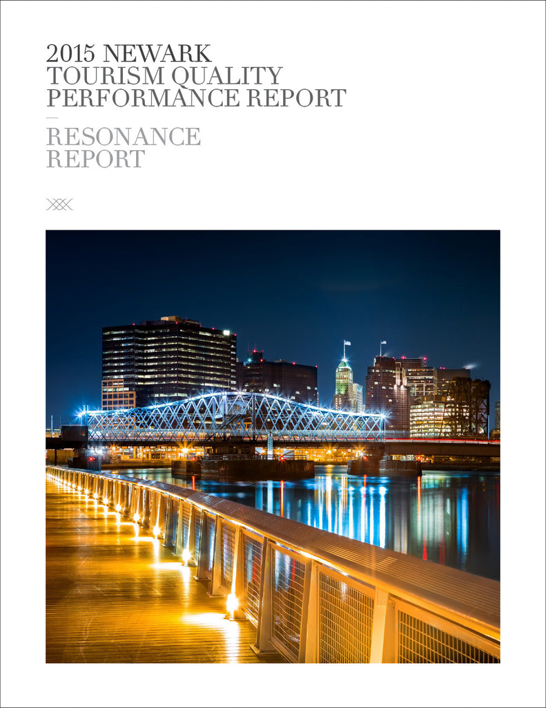 2015 NEWARK TOURISM QUALITY PERFORMANCE REPORT