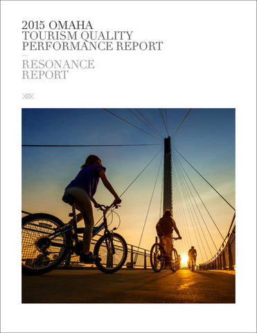 2015 OMAHA TOURISM QUALITY PERFORMANCE REPORT