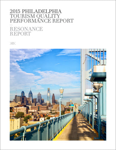 2015 PHILADELPHIA TOURISM QUALITY PERFORMANCE REPORT