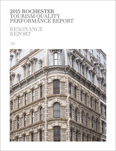 2015 ROCHESTER TOURISM QUALITY PERFORMANCE REPORT