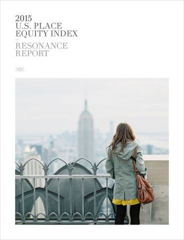 2015 U.S. PLACE EQUITY INDEX