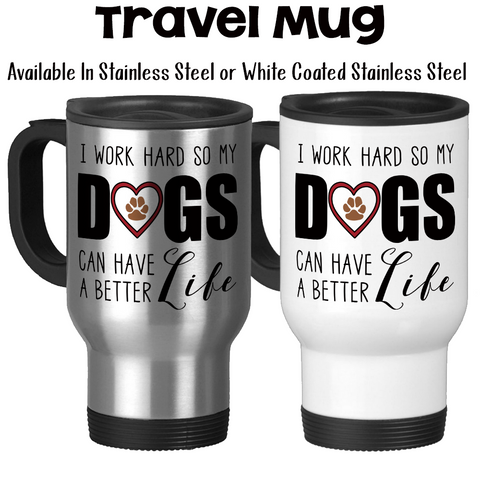 Stainless Steel - Travel Mugs