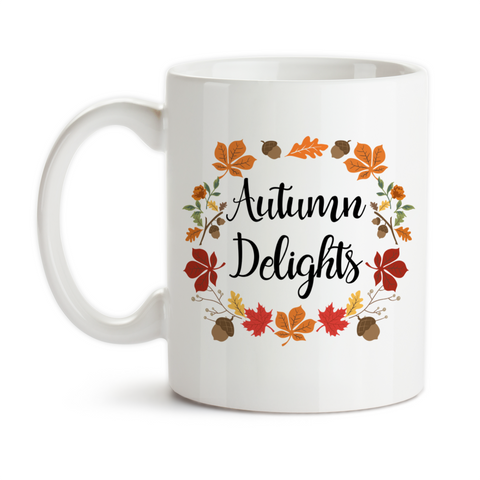 Coffee Mug, Autumn Delights, Fall Colors, Autumn Leaves, Autumn Gift, Autumn Art, Autumn, Fall