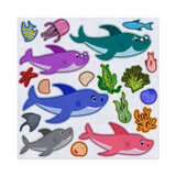 Baby Shark And Family, Ocean Sea Theme, Felt Storyboard Art, Teacher Resource, Preschool, Quiet Toy, Flannel Board Set, Educational Fun