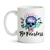 Coffee Mug, Be Fearless, Follow Your Dreams, Graduation Gift, Adventure, Adventurer