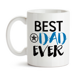 Coffee Mug, Best Dad Ever Family Son Daughter Father's Day Dad's Birthday Christmas