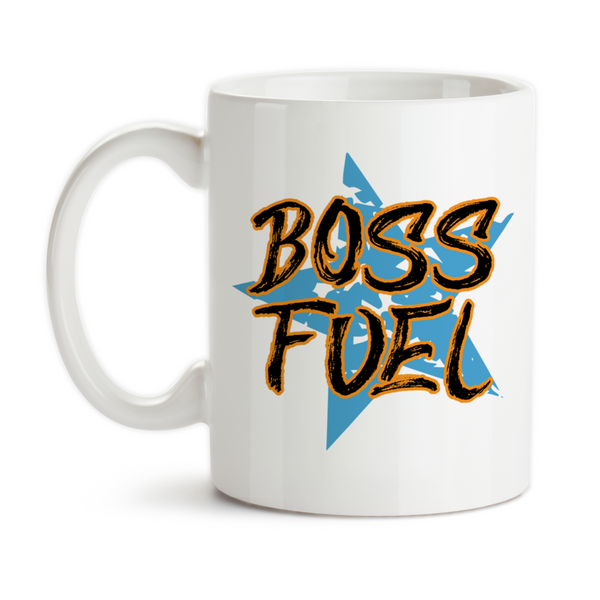 Coffee Mug, Boss Fuel 001, Boss Gift, Boss Birthday, Boss Christmas, Boss Appreciation, Im The Boss, Gift Idea, Coffee Cup at GroovyGiftables.com