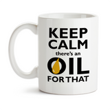 Coffee Mug, Keep Calm There's An Oil For That Essential Oils Lover Essential Oils Business Gift EO EOs, Gift Idea, Coffee Cup at GroovyGiftables.com