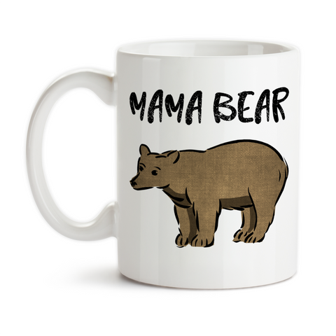 Coffee Mug, Mama Bear Bear Art Mother's Day Mom's Birthday Christmas