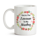 Coffee Mug, You're The Laverne To My Shirley Best Friends Forever Birthday Christmas, Gift Idea, Coffee Cup at GroovyGiftables.com