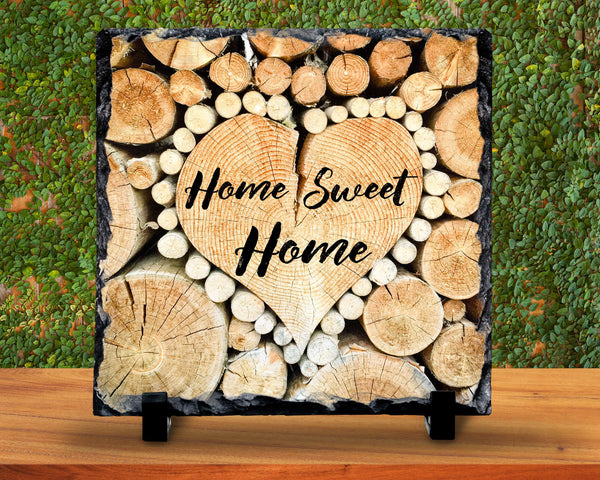 Slate Sign - Home Sweet Home, Housewarming Gift, Home Sign, I Love My Home, Cabin Decor , Home Decor