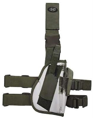 Right Hand Drop Leg Holster - Snow Camouflage