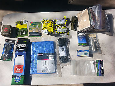 Deluxe 3 Day Emergency Survival Kit  Disaster EarthQuake Zombie Bug out Bag