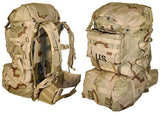 MOLLE II Desert Rucksack w/ 2 Sustainment pouches US Issue Backpack