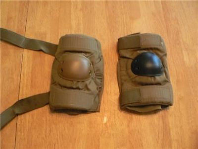 Small Coyote Brown USMC Elbow Pads - Great Condition