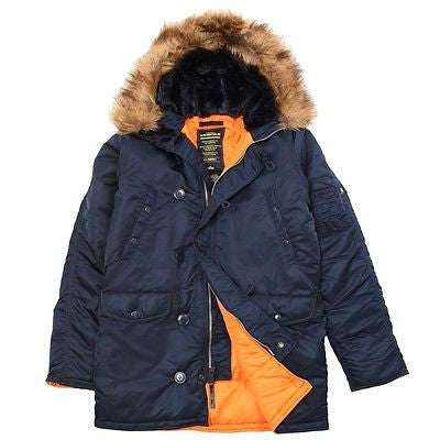 Alpha Industries N-3B Slim fit Parka:  11 Vibrant Color Combinations!