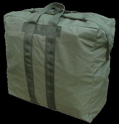 Military USAF Pilot  Flyer's Kit Bag Nylon  US Air Force