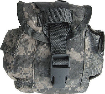 Military Surplus ACU Universal Digital Camo MOLLE Pouch Canteen Cover