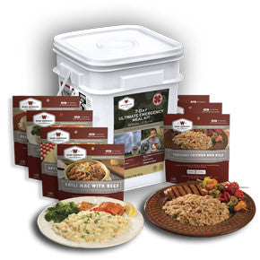 7 Day Ultimate Emergency Meal Kit - Wise Company Food Supply  (outdoor pouches in a bucket)