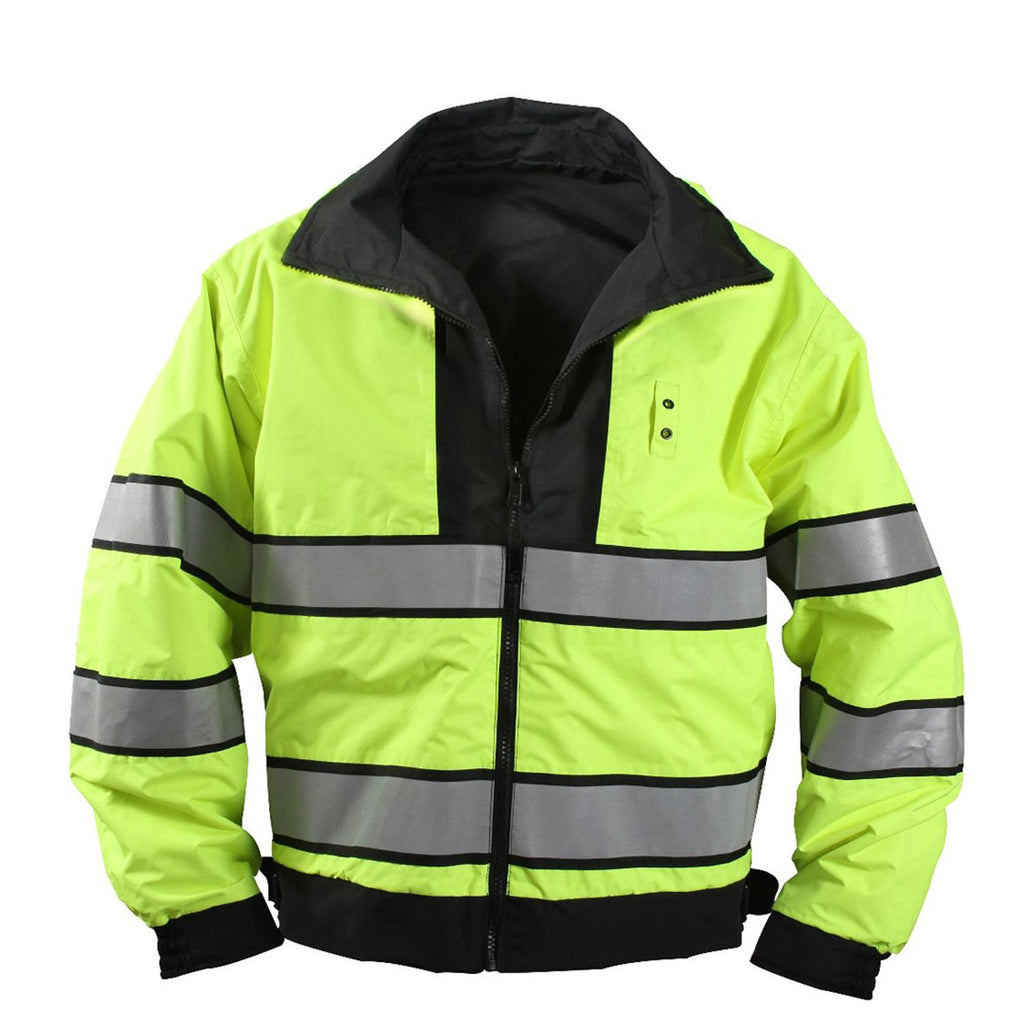 Reversible Hi-visibility Uniform Jacket