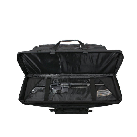 "36"" Black Tactical Rifle Case"