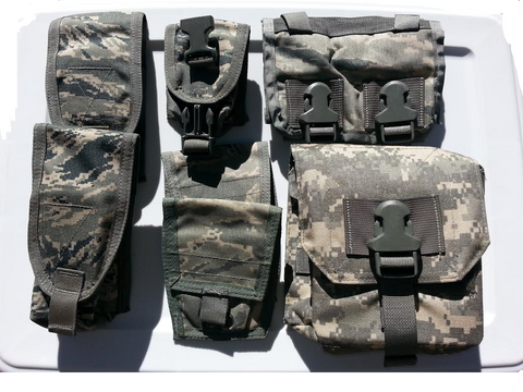 BAE Systems 200 Round Ammo MOLLE, Handcuff, .223 and other Pouches