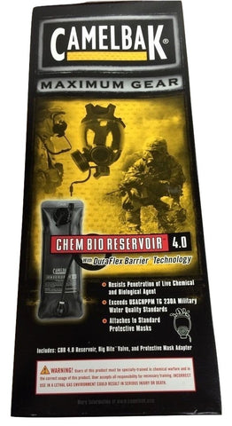 NEW CamelBak Chem Bio Reservoir CBR 4.0 / 3L 100 oz Bladder CBRN NBC