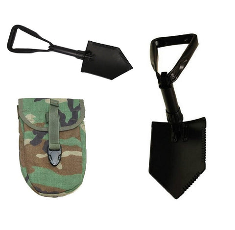 USGI USMC US Army Entrenching tool (E-tool) with cover New - never issued