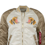 Alpha Industries L-2B Tiger Souvenir Flight Jacket