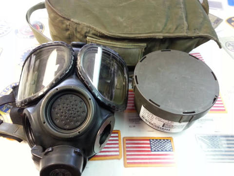 M40 Gas Mask US Army Surplus - Small
