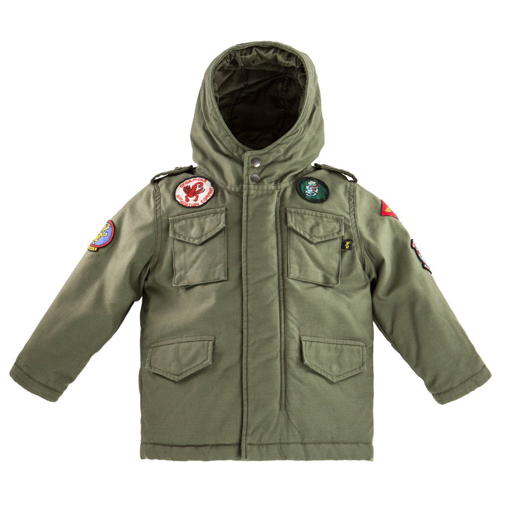 Alpha Industries Youth M-65 Noah Field Coat (toddler, kids)