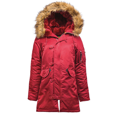 Alpha Industries Women's N-3B Parka  Ladies - Warm and Water Resistant!