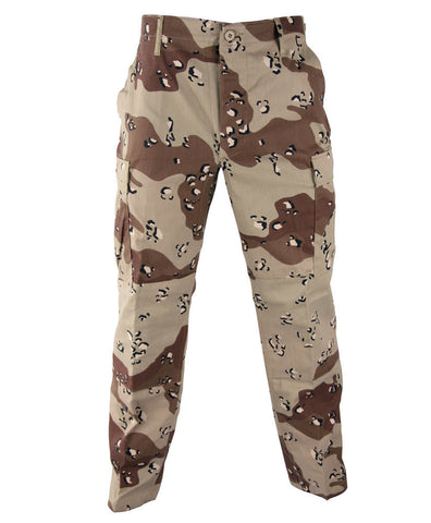 Genuine Gear BDU Camouflage Trousers - Woodland, Desert, Tiger & More