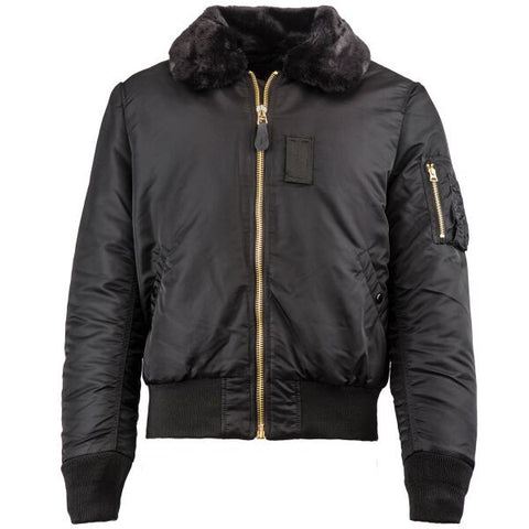 Alpha Industries B-15 Slim Fit Flight Jacket