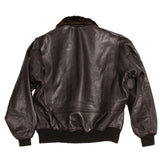 Alpha Industries G-1 Leather Naval Flying Jacket  in Black or Brown