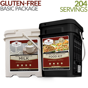 Gluten-free Basic Savings Package - 1 Month Supply 204 servings!