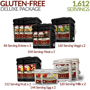 Gluten-free Deluxe Savings Package - 3 Month Supply  1612 Servings!