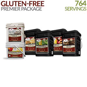 Gluten-free Premier Savings Package - 1 Month Supply  764 Servings!