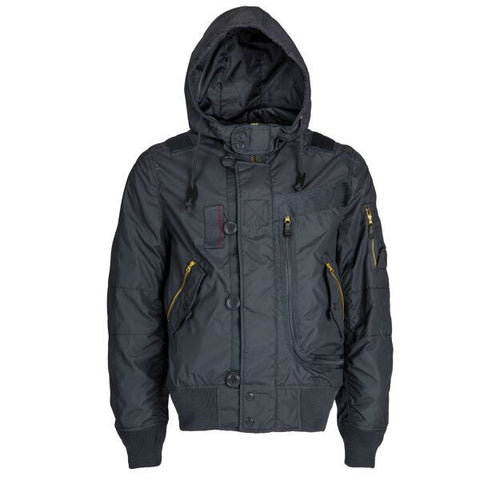 Alpha Industries Helo Bomber Hooded Flight Jacket