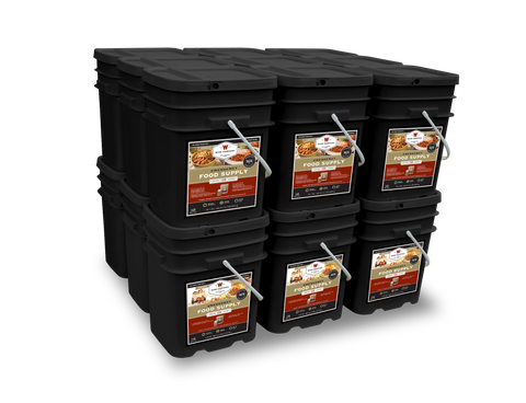 2160 Serving Package (Entree & Breakfast) Long Term Food Supply - Wise Company Food Supply