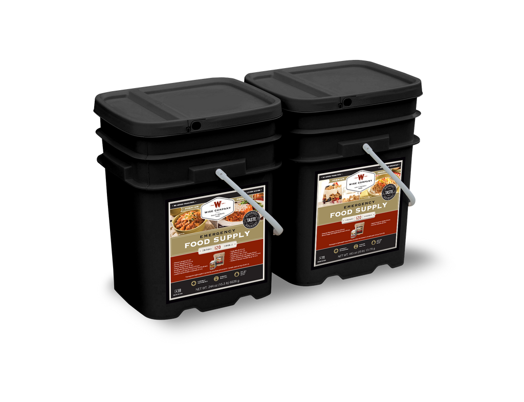 240 Serving Package (Entree & Breakfast) Long Term Food Supply - Wise Company Food Supply