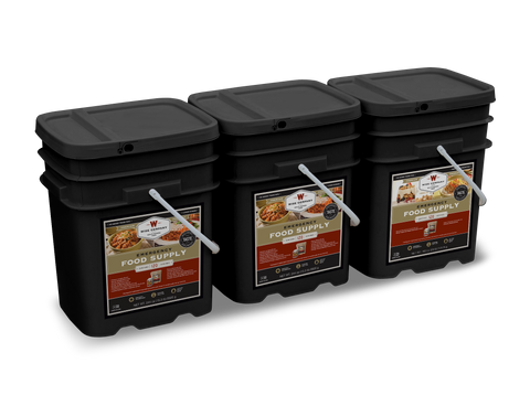 360 Serving Package (Entree & Breakfast) Long Term Food Supply - Wise Company Food Supply