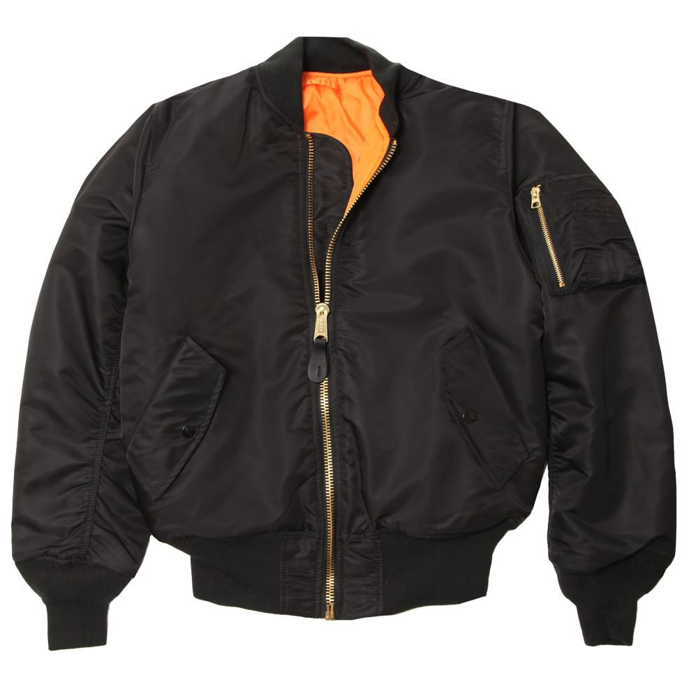 Alpha Industries MA-1 Flight Jacket in six vibrant colors!